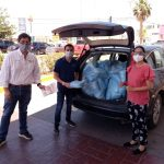 BRP dona material a hospitales
