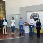 BRP dona medicamentos al IMSS