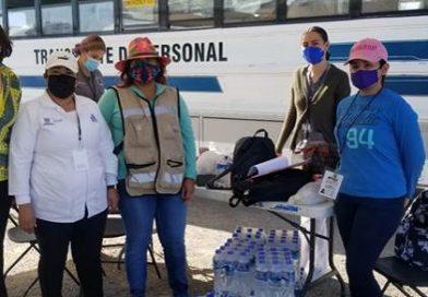 Maquilas apoyaron con 14,830 alimentos a Brigadas de Vacunación