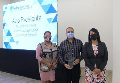 Reconocimiento por Responsabilidad Social Vacunación Federal